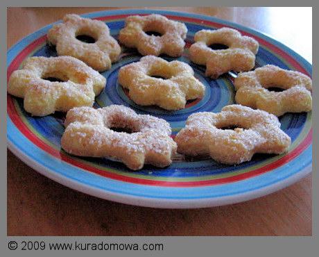 Przepis na kruche ciasteczka z cukrem