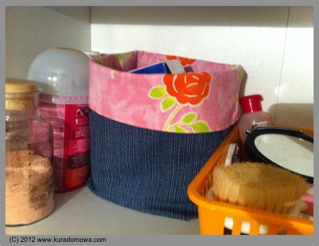 Jak uszyć koszyk z materiału