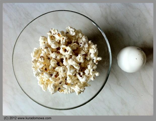 Domowy popcorn z mikrofalówki