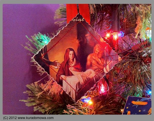 Jak zrobić ozdoby Bożonarodzeniowe z pocztówek