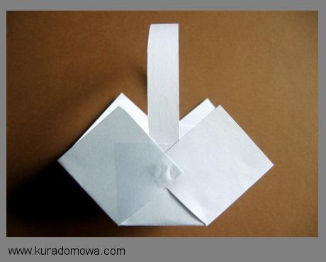 Wielkanocne koszyczki z papieru – kuradomowa.com