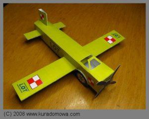 Papierowy model samolotu