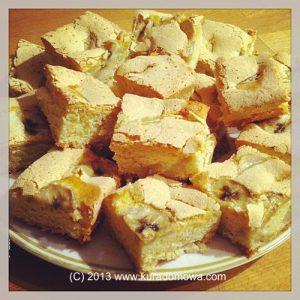 Przepis na biszkoptowe ciasto zowocami