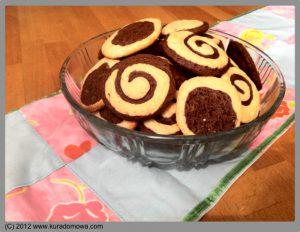Przepis na dwukolorowe ciasteczka zamoniakiem