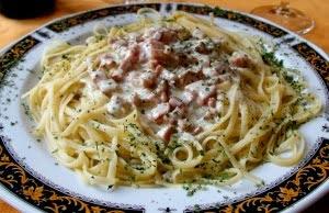 Przepis na spaghetti Carbonara