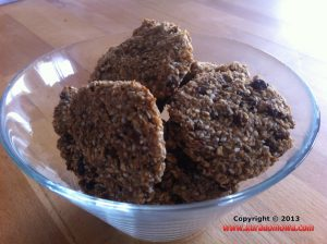 Przepis na zdrowe ciasteczka owsiane zbananami