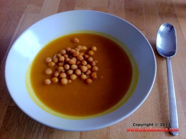Przepis na zupę dyniową krem